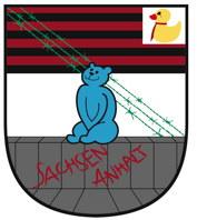 Landeswappen der PARTEI Sachsen-Anhalt